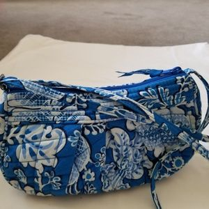 Vera Bradley Small Frannie Crossover Quilted Bag
